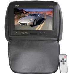 Pyle Pl90hrbk Adjustable Black Headrest Built In 9 Tft